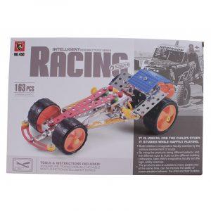 Metallbyggesett racing bil, 163 deler