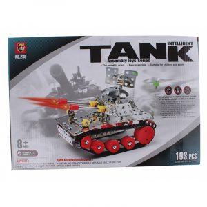 Metallbyggesett tanks, 193 deler