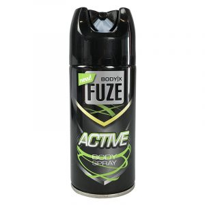 Deodorant og bodyspray. Body spray Active. Body X FUZE. 150 ml
