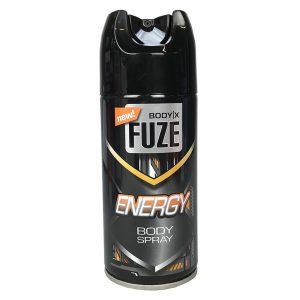 Deodorant og bodyspray til herre, Fuze Energy