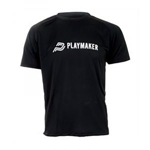 Playmaker t-shirt, sort. M