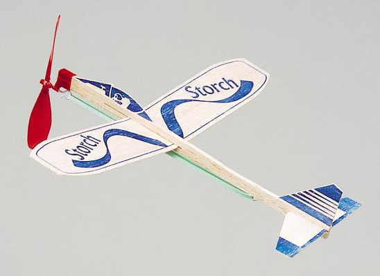 Balsa Strikkmotor fly
