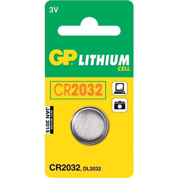 Batteri Knappcell CR 2032