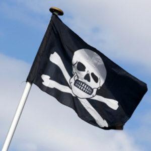 Pirat flagg