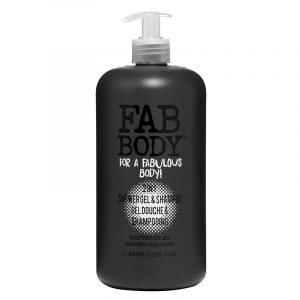 Fab body Shampoo og dusjsåpe 2 i 1 for menn.
