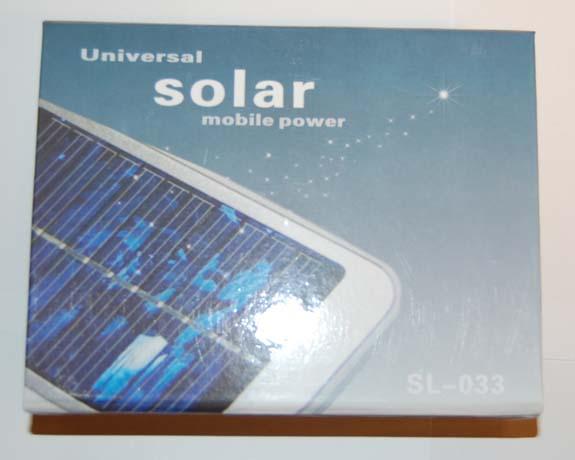 Solar mobil lader