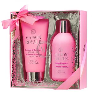 Gavesett Maison Royale. Body lotion 220ml - body wash 300ml- fra Elle.
