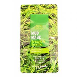 Ansiktsmaske Mud Mask, Seaweed and Green Tea 15g.