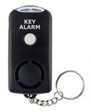 Alarm lykt med nøkkelring