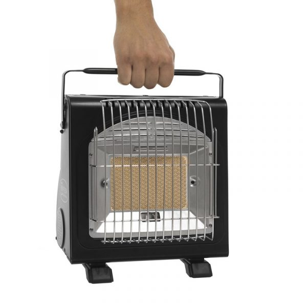 Portabel gassovn og kokebluss. Gass ovn bærbar til båt, hytte, campingvogn o.l.
