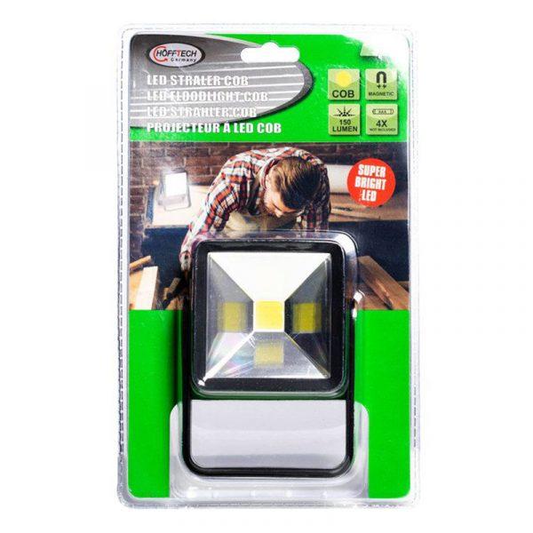 LED arbeidslampe. 1,5W, 3W. Magnetisk, 150 Lumen.