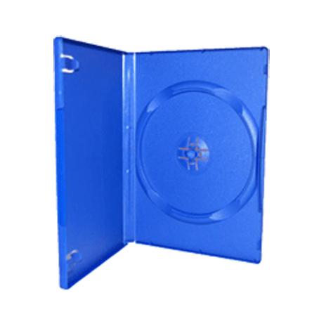 DVD cover, blå