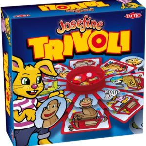 Josefine Trivoli spill. Spillet lærer barn om logisk tenkning.