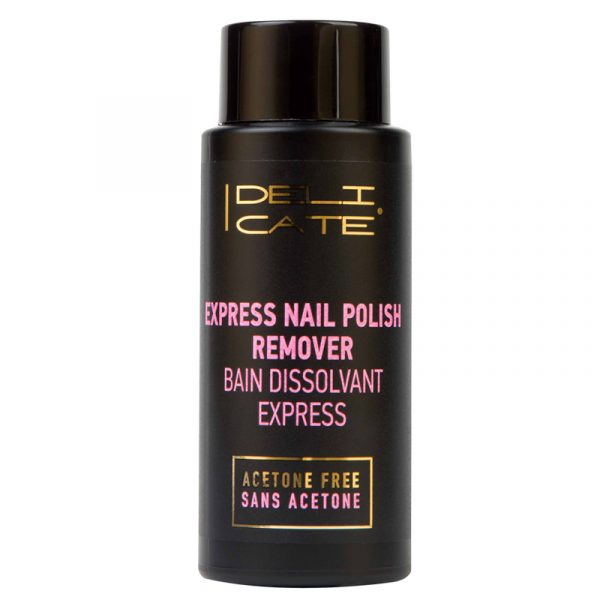 Deli Cate Express nail polish remover. Neglelakkfjerner. Aceton fri. 150 ml.