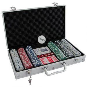 Deluxe poker set 300