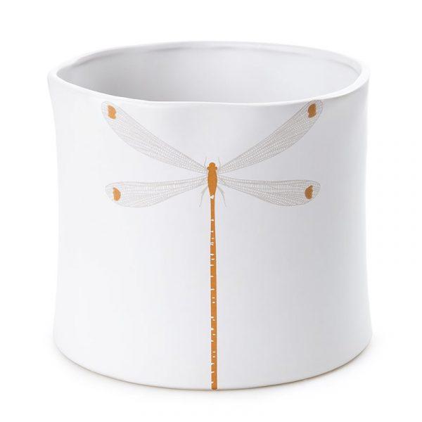 Blomsterpotte - Dragonfly. Blomster potte i keramikk.