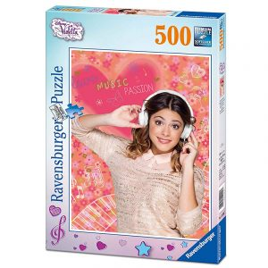 Puslespill Violetta Disney, 500 biter. Ravensburger puzzle.