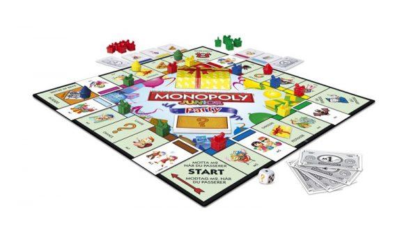 Monopoly Junior Party. Et morsomt monopol spill for barn.