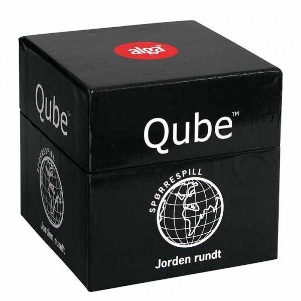 Qube spørrespill fra alga. 500 spørsmål Jorden rundt