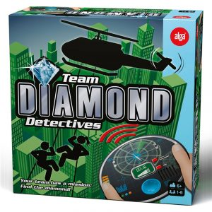 Team Diamond Detectives. Spill, brettspill fra Alga. Finn diamanten.