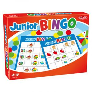Junior Bingo fra Tactic.