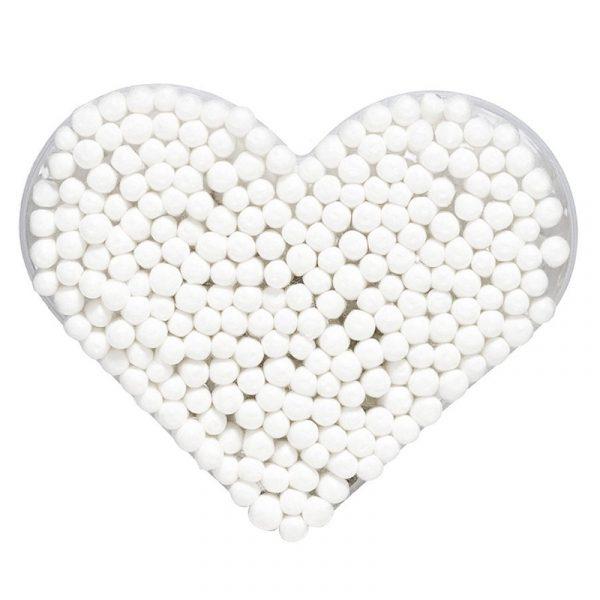 Bomullspinner i hjerteboks.
