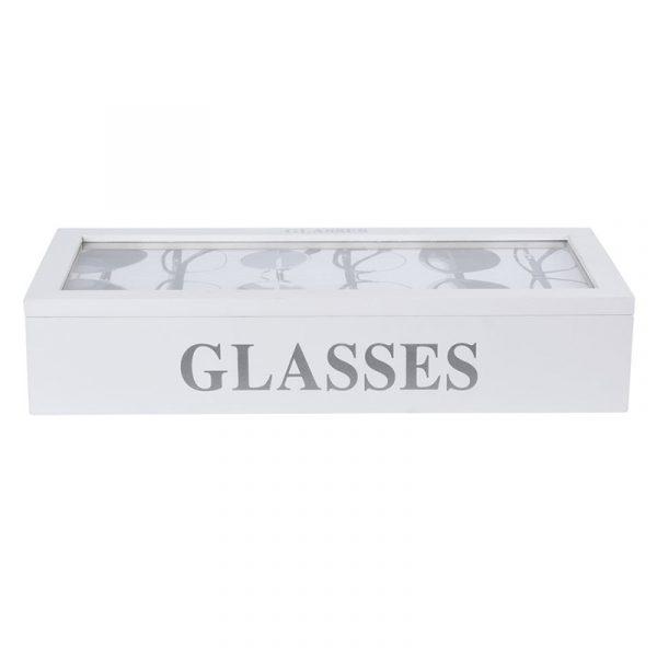 Oppbevaringsboks til briller. Oppbevarings boks.