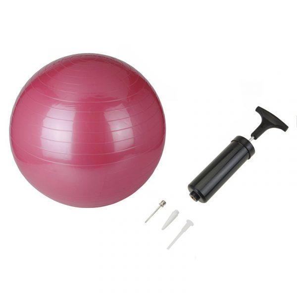 Gym ball fra XQMAX inkludert pumpe.