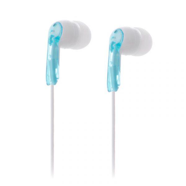 Stereo øreplugger lette og behagelige.