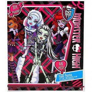 Puslespill, Monster High, gulv pusle