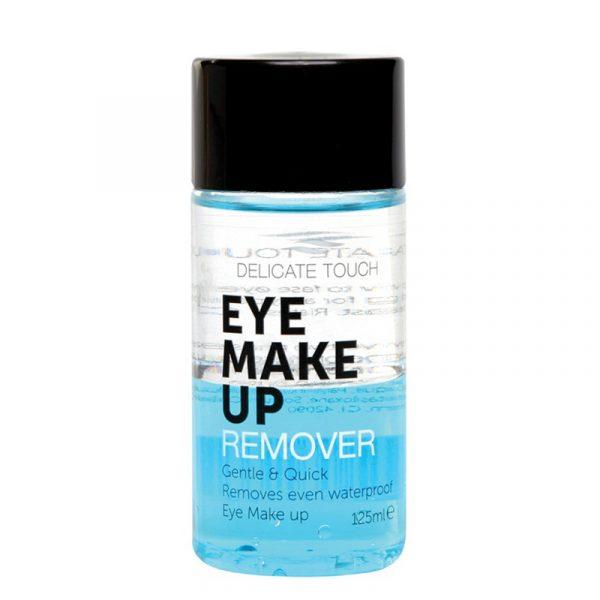 Sminkefjerner Delicate Touch. En effektiv øye sminke fjerner.