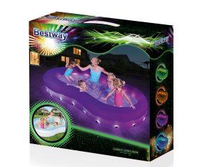 Bestway basseng med LED lys