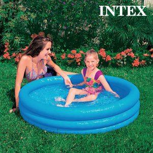 Plaskebasseng til barn. 255 liters basseng fra Intex. 1,14 x 25cm.