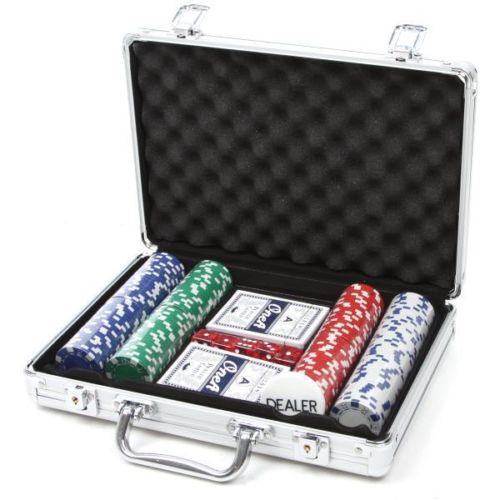 Deluxe Poker Set 200 Pokerkoffert