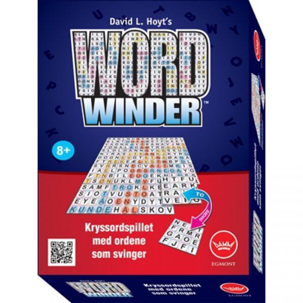 Word Winder, kryssordspill med ordene som svinger. Brettspill med kryssord.