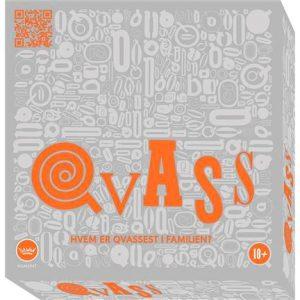 Qvass brettspill Hvem er qvassest i familien. Spørrespill der kompetanse settes på prøve.