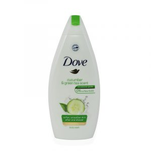 Dove Cucumber and green tea dusjsåpe 250 ml. Body wash.