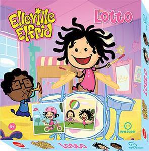 Elleville Elfrid Lotto. Et Memo spill fra den populære barne TV figuren og vennene hennes.