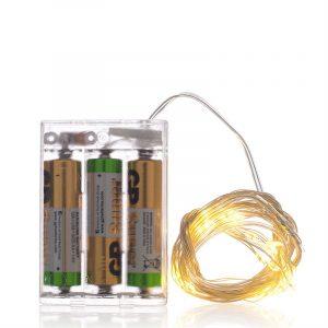 Hvite Led lys på ledning, 40 stk.jpg