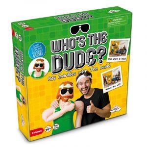 """Who´s the DUDE? Spill for voksne. Gjett hvem """"the dude"""" er i dette vanvittig morsomme spillet!"""