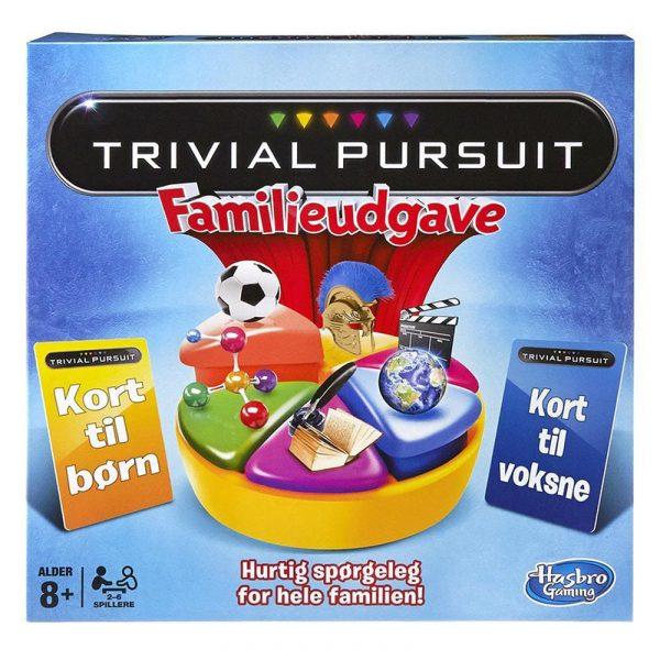 Trivial Pursuit Familieudgave. Spørrelek for hele familien. Dansk utgave.
