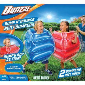 Bump N´Bounce Body bumpers. Bonk outs, sumo boppers. Banzai. Oppblåsbar.