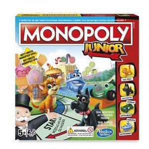Monopoly Junior. Monopol for barn. Populært brettspill