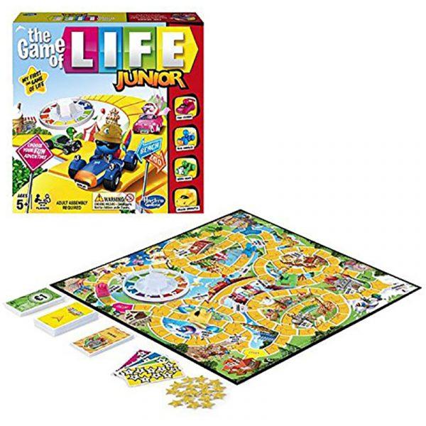 The Game of Life Junior. Et brettspill fra Hasbro. Brettspillet er for barn.
