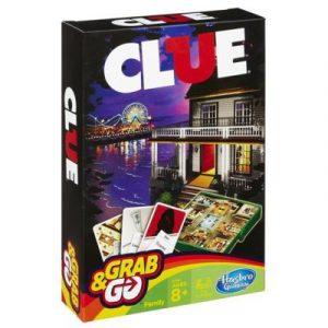 Cluedo Grab & Go Detektiv spill