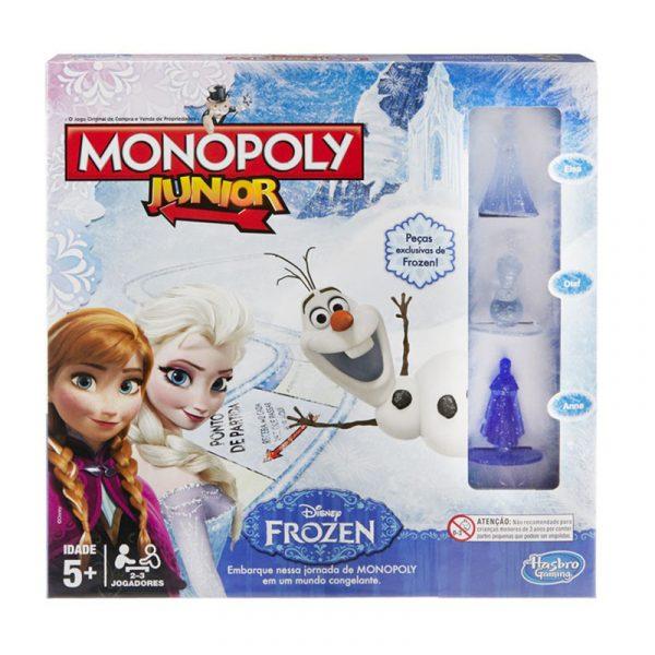 Monopoly Junior Frost. Monopol for barn Frozen. Populært brettspill