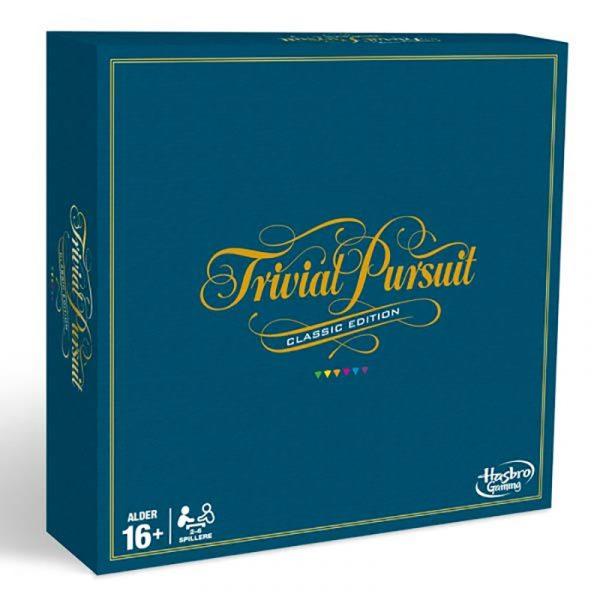 Trivial pursuit classic edition. Spørrespill, kunnskapsspill, Hasbro. Spill, brettspill.