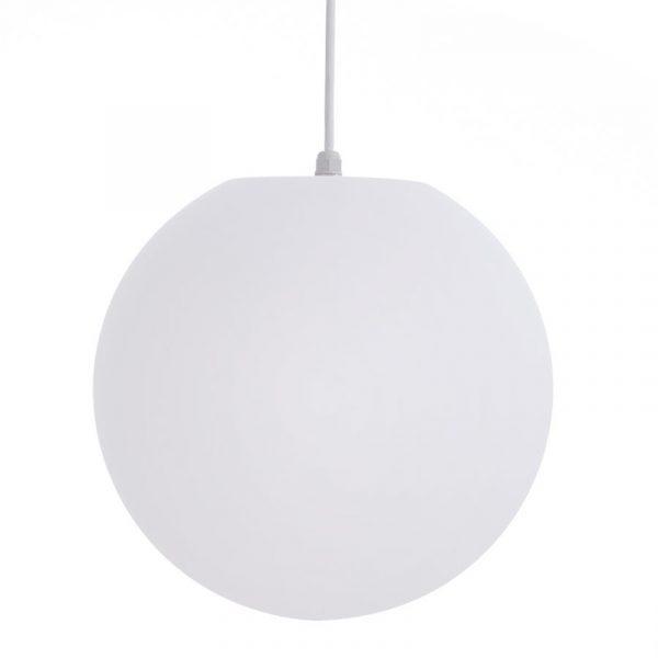 Led pendel lampe 35cm. Lys, lykt, utendørs innendørs. Hengelampe. Fjernkontroll farget lys.
