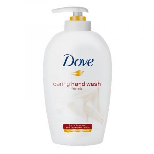 Dove håndsåpe fine silk, 250 ml.