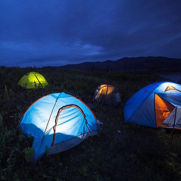 LED-lanterne til campingtelt